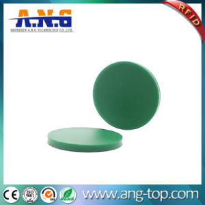 13.56MHz Round Metro Tokens RFID Passive Tags for Public Transportation pictures & photos