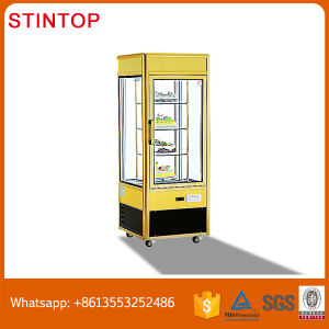 Commercail Bakery Refrigerator Cake Display Chiller Marble Base or Stainless Steel Cake Showcase Refrigerators