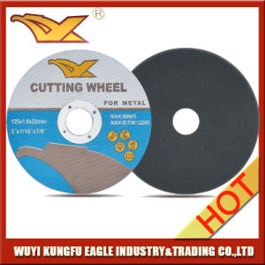 Hot Sale in India 5 Inch Yuri Quality Abrasive Metal Free Samples Cutting Disc for Metal pictures & photos