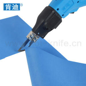 Continuously Operated Hot Knife Fabric Cutter