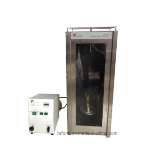 Vertical Flammability Burning Test Instrument