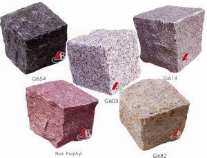 Natural Stone / Granite Cubes or Paving Stone in Garden Series pictures & photos