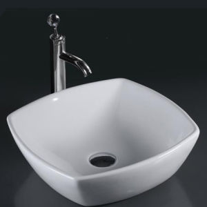 Unique Porcelain Bathroom Vessel Sink (6060) pictures & photos