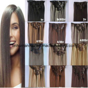 Clip-on Human Hair Extensions (HN-C-006)