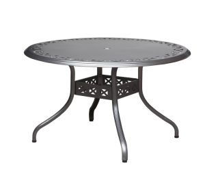 Aluminum Round Dining Table & Garden Table & Outdoor Table (DT130AA02 / DT120AA04 / DT100AA05)