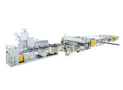 PE Building Template Board Extrusion Line (SJ-150/35) pictures & photos