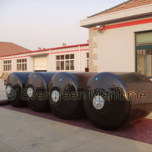 Cushion Type EVA Foam Filled Marine Fenders with Strong Reinforcement Layers Floating Docks with Chain pictures & photos