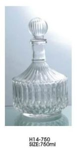 Brandy Decanter/Cognac Bottle (H14-750)