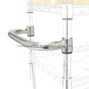 Push Handle Wire Shelving Accessory pictures & photos