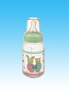 BPA Free Silicone Baby Bottle 120ml / 250 Ml