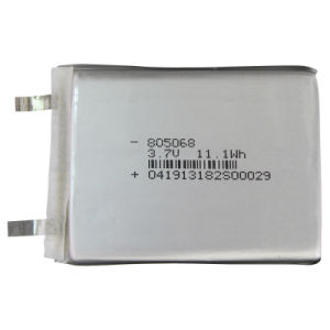 Lithium Ion Polymer Battery Cell for Mobile/ POS Terminal 3.7V