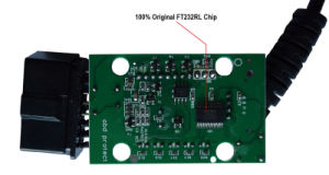 Elm327 USB Fdti FT232rl Original Chip Pic18f25k80 pictures & photos