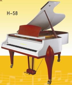 Empero 158 White Polished Grand Piano