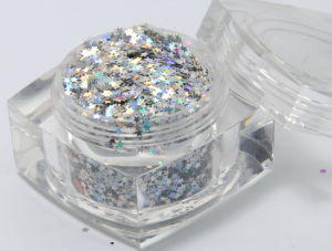 Glitter Powder (Star Shape) (TL001)
