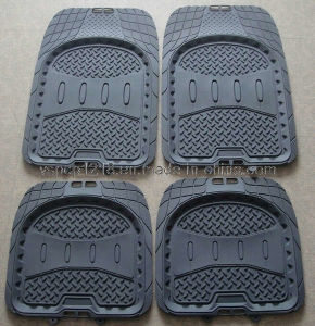 Rubber & PVC Car Floor Mat (YD-0069)
