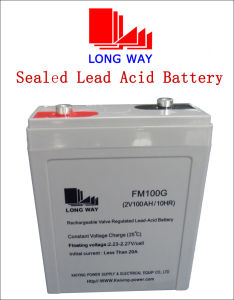 2V Series Storage Battery for Solar and PV System 2V100~1000ah pictures & photos