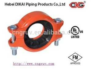 FM /UL Approved Grooved Reducing Coupling Ductile Iron Grooved Pipe Fitting