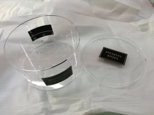 Custom High Quality Plastic Acrylic Flower Packaging Box pictures & photos