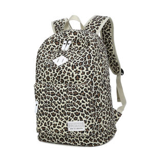 Fashion Girls Outdoor Travel Laptop Canvas School Backpack pictures & photos