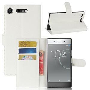 promo code 100f8 b5897 Sony Xperia Xz1 Compact Case PU Leather Wallet Case Magnetic Flip Cover and  Stand with Card Holders