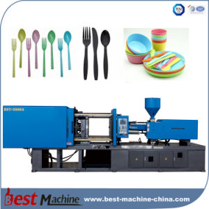Plastic Household Knife Spoon Fork Making Line Machine pictures & photos
