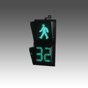 200mm Pedestrian Traffic Signal Light with Countdown (square)