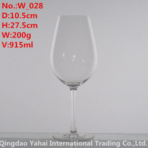 915ml Clear Colored Wine Glass pictures & photos