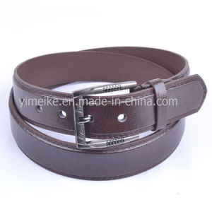 New Fashion Business Buckle Casual PU Leather Belt for Man pictures & photos