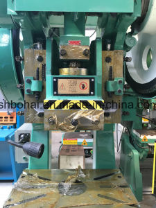 Jb23-63t C Type Mechanical Power Press / Punching Machine / Different Metal Shape Making Machine pictures & photos