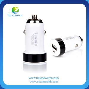Bullet Dual USB Car Charger Rechargeable Battery for iPod iPhone (SC50)