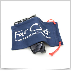 Microfiber Double-Side Pull Sunglasses Pouch pictures & photos