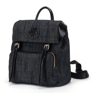 Fashion Female Leisure Jeans Backpack Bag (pH1836)