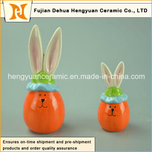 Lovely Cartoon Ceramic Decorative Easter Rabbit pictures & photos
