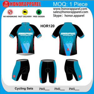 Honorapparel Top Quality Sublimation Custom Cycling Jersey