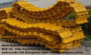 Steel Undercarriage Crawler Chains for Bulldozer (D3C D4D D5 D6E)