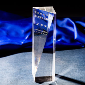 K9 Simple Crystal Trophy Crystal Column Award-Free Engraving pictures & photos