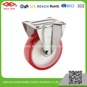 100mm PU Swivel Locking Caster Wheel (P104-26D100X30S) pictures & photos