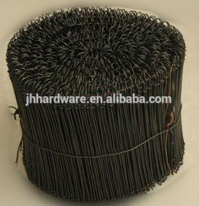 """6/"""" Black Annealed Double Loop Steel Wire Ties 5000 pcs 16 ga."""