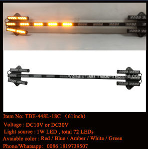 LED Strobe Arrow Stick with Traffic Warning (TBE-448L-18C) pictures & photos