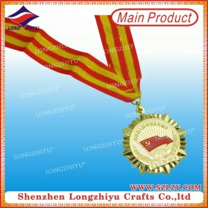 Zinc Alloy Medal Manufacturer Custom Made Medals with Ribbon pictures & photos