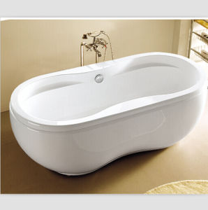 Canac Unique Bathtubs Double Oval Bathtub Peanut Bath pictures & photos