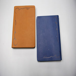 Leather Cover Notebook Printing Service pictures & photos