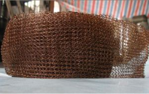 High Quality Copper Knitted Wire Mesh Filter China Supplier Anping Factory pictures & photos
