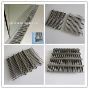 China Drainage Stainless Steel Floor Drain Grating Patio Covers Airport System Railway