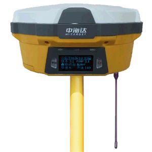 NEW rugged dual frequency GNSS gps RTK Hi-target V60 Base and  mobile station