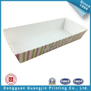 Customized Color Paper Food Tray (GJ-tray005) pictures & photos