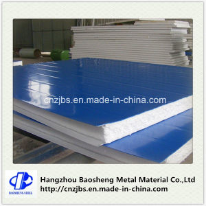 Color Steel EPS Sandwich Panel Insulated Decorative Plystyrene Foam Panel pictures & photos