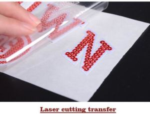 2016 Different Type of Laser Heat Transfer Stickers pictures & photos