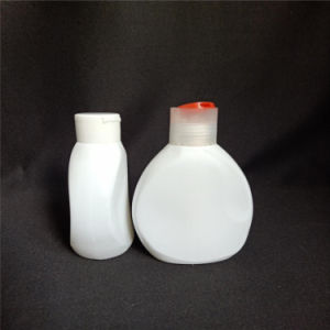 600ml White Color Empty Laundry Detergent Liquid Pe Bottle