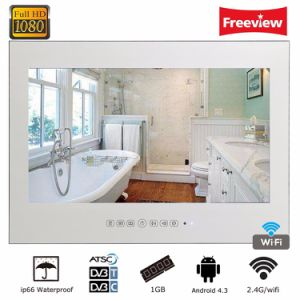 27 Inch Smart Full Hd Android Wi Fi Magic Mirror Bathroom Waterproof Led Tv
